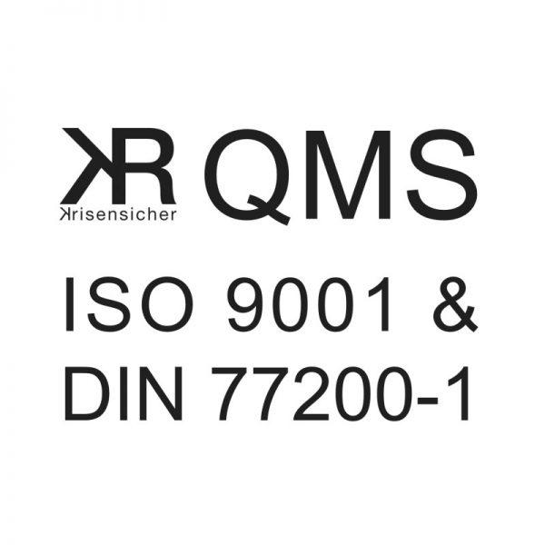 QM-Dokumentation für Sicherheitsdienstleister nach ISO 9001 und DIN 77200-1